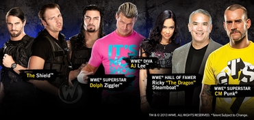WWE� Superstars, Diva & Hall of Famer Platinum VIP Experience @ Chicago Comic Con 2013