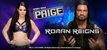 WWE� Superstar Roman Reigns� & Diva Paige� Saturday DUAL VIP Experience @ Las Vegas Comic Con 2015