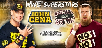 WWE� Superstars John Cena� And Daniel Bryan� To Attend Wizard World Philadelphia Comic Con on May 30, June 1, 2013