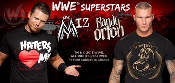WWE� Superstars The Miz� And Randy Orton� To Attend Upcoming Wizard World Comic Cons!