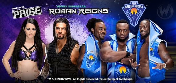 WWE� Superstars The New Day�, Roman Reigns�, Diva Paige� To Appear at Wizard World Comic Con Portland