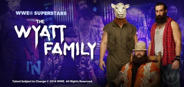 WWE� Superstars The Wyatt Family� Saturday VIP Experience @ Ohio Comic Con 2014