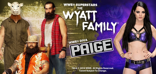 WWE� Superstars The Wyatt Family� & WWE� Diva Paige� To Attend Wizard World Ohio Comic Con!