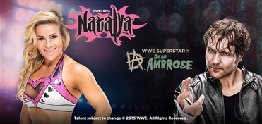 WWE� Superstar Dean Ambrose� & Diva Natalya� DUAL VIP Experience @ Wizard World Comic Con