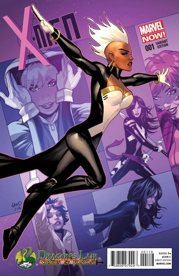 <i>X-Men #1</i> Dragon�s Lair Exclusive Variant Cover By Greg Land