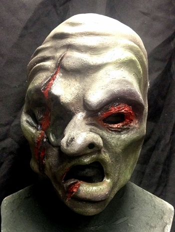 <i>Zombie Face Mask</i> Chicago Comic Exclusive by Jeremey & Mallie Adams