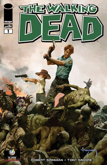 �Zombie King� Arthur Suydam�s Variant Cover of Robert Kirkman�s ��The Walking Dead #1�� Debuts @ Wizard World St. Louis Comic Con
