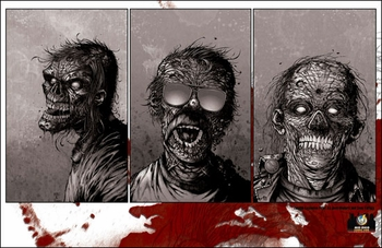 <i>Zombie</i> Mid-Ohio Comic Con Wizard World Exclusive Print by Josh Medors and Sean Forney