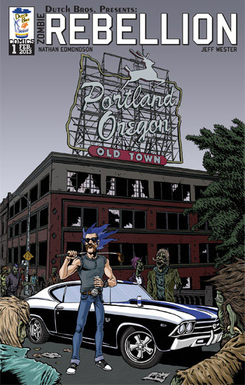 <i>Zombie Rebellion</i> Portland Comic Con Exclusive by Nathan Edmondson & Jeff Wester