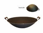 All Cast Iron Flat Bottom Wok