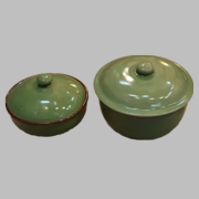 Celadon Soup/Stew Bowl with Cover (Keep Hot!)