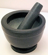 Chinese Stone Mortar and Pestle