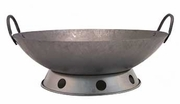 Carbon Steel Hand Hammered Wok (WC) (wok ring not included)