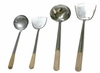 Heavy Gauge Stainless Spatula and Ladle