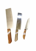 Set of three of our most popular Kiwi knives(Blunt)
