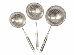 Stainless Steel Perforated Shallow Scoop