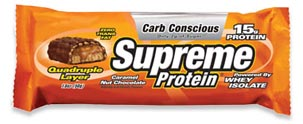 18oz Caramel Nut Chocolate Snack Size 9pk by Supreme Protein