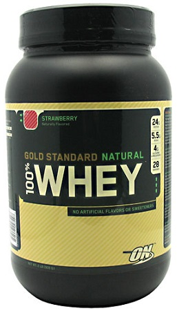 100 Natural Whey Protein Powder Supplement 2lb Optimum Nutrition