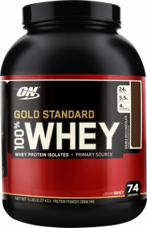 100 Whey Protein Standard 5lb by Optimum