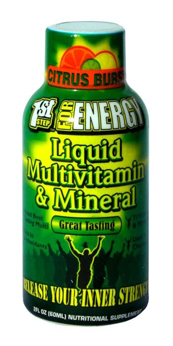 1st Step Liquid Vitamin 2oz Single Serving 12 ct