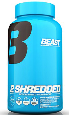 2 Shredded 120ct Beast Sports Nutrition