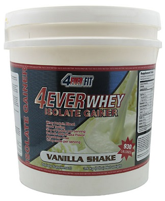 4Ever Whey Isolate Gainer 8lbs by 4Ever Fit
