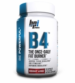 B4 BPI Preworkout Diet Pill