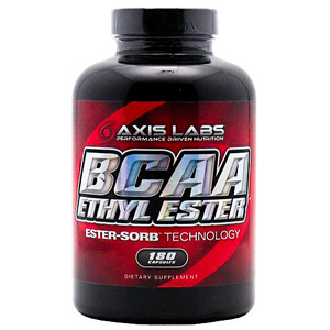 BCAA Ethyl Ester by Axis Labs 180ct