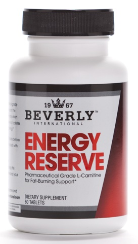 Energy Reserve L-Carnitine by Beverly Nutrition 60ct