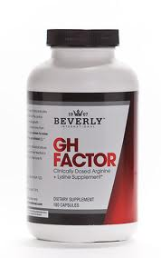 GH Factor HGH Stimulator 180ct by Beverly Nutrition