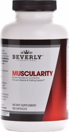 Muscularity Beverly Nutrition Weight Lifting Supplement