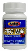 Pro Mag 25 60 Capsules Hard Rock Supps