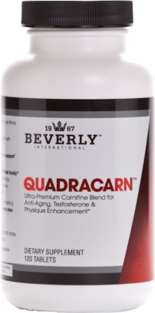Quadracarn 120ct Beverly Nutrition