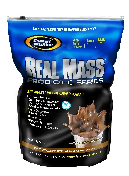 Real Mass Probiotic 12lbs by Gaspari Nutrition