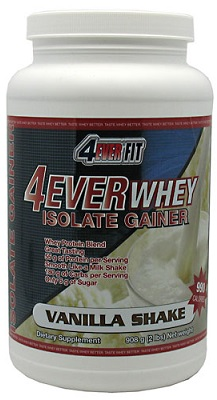 Whey Isolate Gainer 2lb by 4Ever Fit