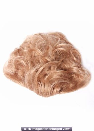 Human Hair Pull Through Hairpiece