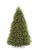 10' Forrest Fir Pre-Lit Tree (1200 Clear Lights)