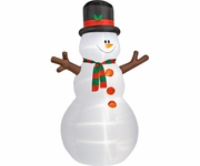 12' Colossal Snowman Inflatable