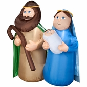 4' Holy Family Scene Inflatable