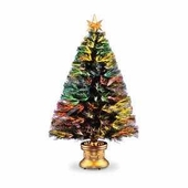 "48"" Fiber Optic Evergreen Tree"