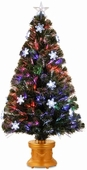 "48"" Fiber Optic fireworks Tree (with 19 snowflake Lights)"