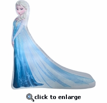 6' Long Photoreal Elsa Inflatable