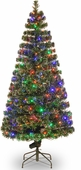 "60"" Fiber Optic ""Evergreen"" Tree w/150 Multi LED Lights"