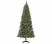 7.5' Dunhill Quick Set Slim Prelit tree (400 clear or Multi lights)