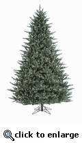 8' Deleware Fraser Pre-Lit Tree (1050 Clear Lights)