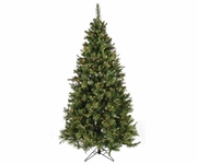 9' Nordmann Fir Tree (900 clear lights)
