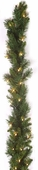 "9'x10"" Prelit Mixed Pine Garland (50 Clear Indoor/Outdoor Lights)"