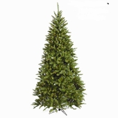 New Jersey Pine <b>Slim</b> Prelit Artificial Christmas Trees