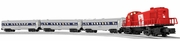 CNJ LionChief Ready-to-Run Passenger Set (RS-3 #1540)