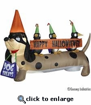 Halloweiner Dog